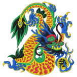 Chinese Zodiac Dragon Embroidered Shirt
