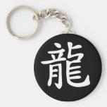 Chinese Zodiac - Dragon Basic Round Button Keychain