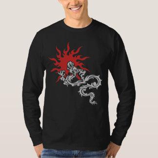 Chinese Zodiac - Fire Dragon Sign Dark T-Shirt