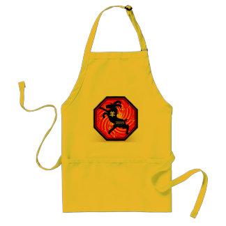 Chinese Zodiac Goat apron