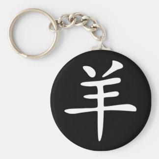 Chinese Zodiac - Goat Keychain
