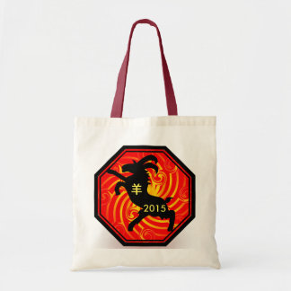 Chinese Zodiac Goat tote bag