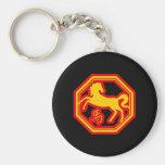 Chinese Zodiac Horse Keychain