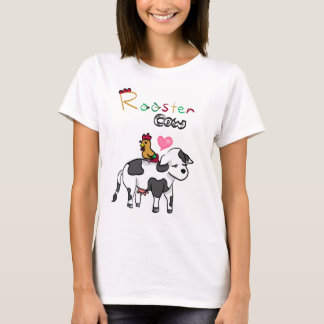 Chinese Zodiac Lovers RoosterxOx T-Shirt
