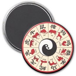 Chinese Zodiac Magnet