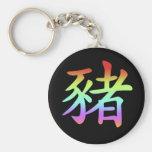 Chinese Zodiac - Pig Key Chains