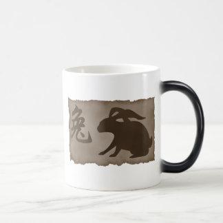 Chinese Zodiac Rabbit Gift Magic Mug