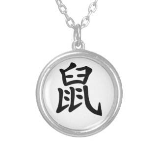 Chinese Zodiac - Rat Necklace
