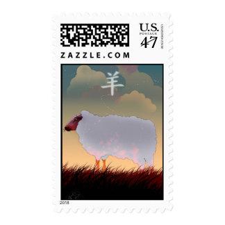Chinese Zodiac Sheep Postage