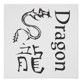 Chinese Zodiac Sign- Dragon Poster