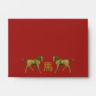 Chinese Zodiac Sign: Horse Envelope
