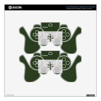 Chinese zodiac sign Ox green Skin For PS3 Controller