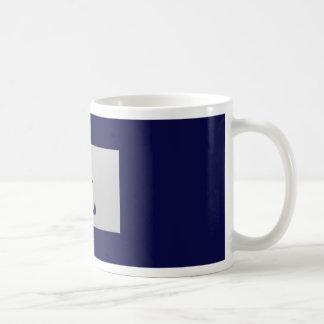 Chinese zodiac sign Rabbit blue Coffee Mug
