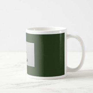 Chinese zodiac sign Rabbit green Coffee Mug