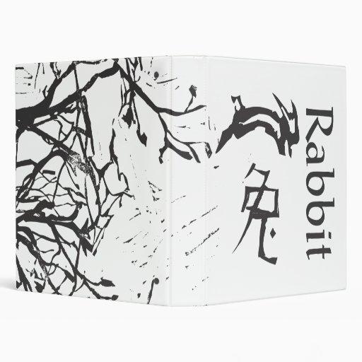 Chinese Zodiac Sign- Rabbit, ttreeesx3v.ai Binder