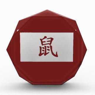 Chinese zodiac sign Rat red Award