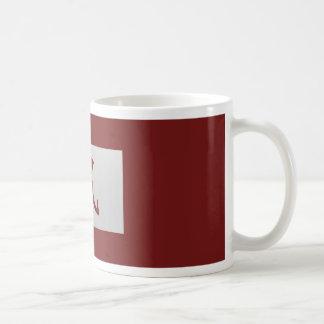 Chinese zodiac sign Rat red Coffee Mug