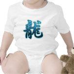 Chinese Zodiac Sign Water Dragon Baby T-Shirt Bodysuits