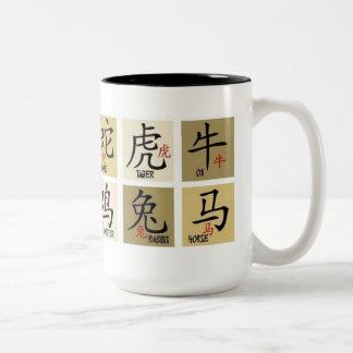 Chinese Zodiac Signs Mug