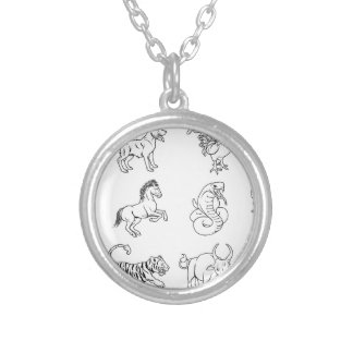Chinese Zodiac Signs Necklace