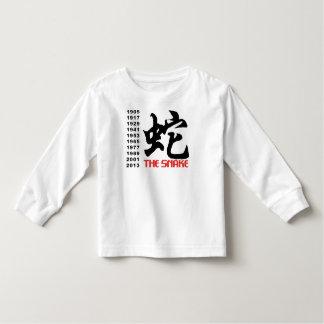 Chinese Zodiac Snake Toddler T-shirt
