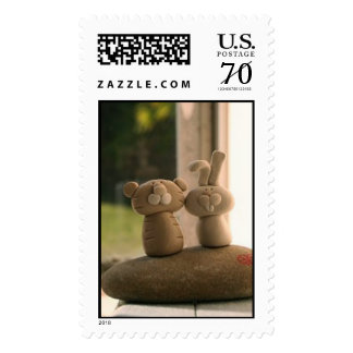 chinese zodiac - tiger and bunny stamps