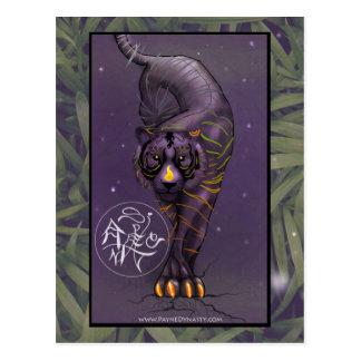 Chinese Zodiac Tiger Postcard
