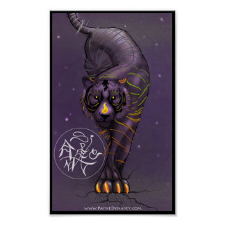 Chinese Zodiac Tiger Poster