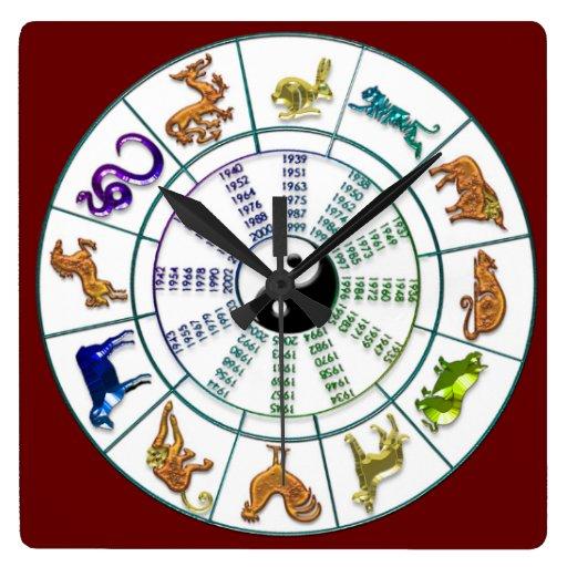 chinese_zodiac_wheel_chinese_new_year_wallclock ...