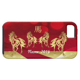 Chinese Zodiac Year Of Horse iPhone 5 Cover Case