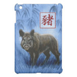 Chinese Zodiac Year of the Boar iPad Case