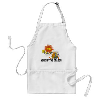 Chinese Zodiac Year of The Dragon 2012 Adult Apron