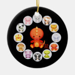 Chinese Zodiac Year of the Dragon 2012 Ornament