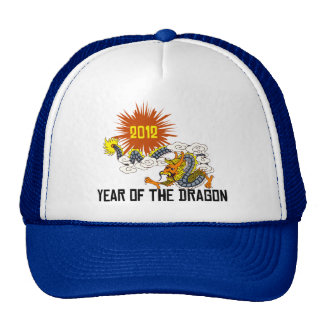 Chinese Zodiac Year of The Dragon 2012 Trucker Hat