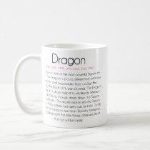 Chinese Zodiac (Year of the Dragon) 2 Coffee Mug
