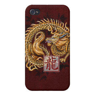 Chinese Zodiac Year of the Dragon iPhone4 Case