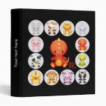 Chinese Zodiac Year of the Dragon Vinyl Binder