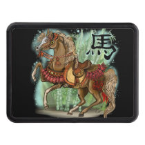 Chinese zodiac year of the horse hitch cover