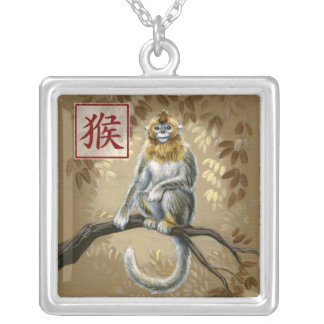 Chinese Zodiac Year of the Monkey Necklace