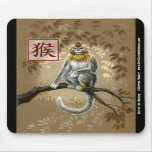 Chinese Zodiac Year of the Monky Mousepad