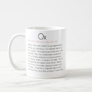 Chinese Zodiac (Year of the Ox) 2 Coffee Mug