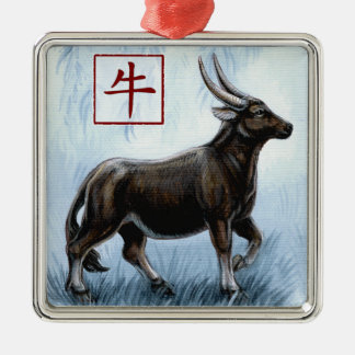 Chinese Zodiac Year of the Ox Ornament