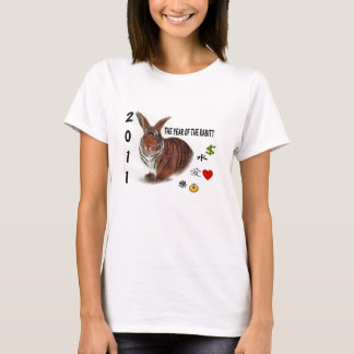 Chinese Zodiac Year of the Rabbitt T-Shirt