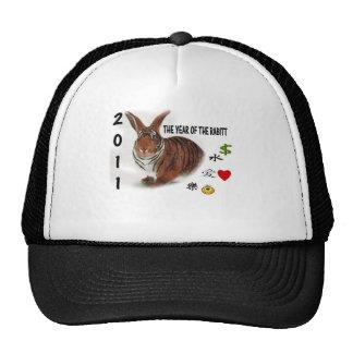 Chinese Zodiac Year of the Rabbitt Trucker Hat