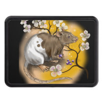 chinese zodiac year of the rat hitch cover