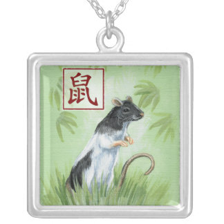 Chinese Zodiac Year of the Rat Necklace