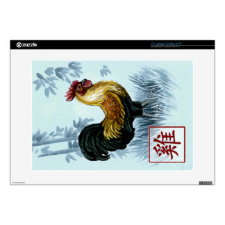 Chinese Zodiac Year of the Rooster Laptop Skin