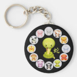 Chinese Zodiac Year of the Snake 2013 Key Chains