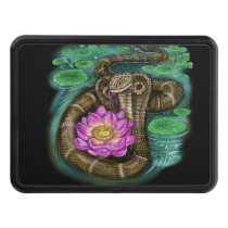 chinese zodiac year of the snake hitch cover