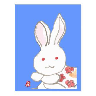 chinesenewyearrabbit tarjetas postales
